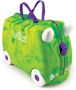 Trunki Rex the Dinosaur Matkalaukku 18L, Green