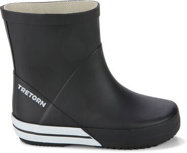 Tretorn Basic Mid Kumisaappaat, Black/White