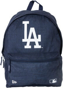 New Era MLB Losdod Reppu 16L, Heather Navy/White