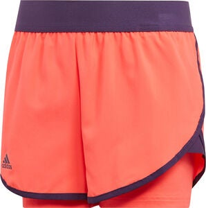 Adidas Girls Club Shortsit, Coral