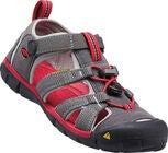 KEEN Seacamp II CNX Youth Sandaalit, Magnet/Racing Red