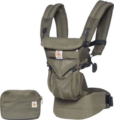 Ergobaby Omni 360 Kantoreppu Cool Air, Khaki Green