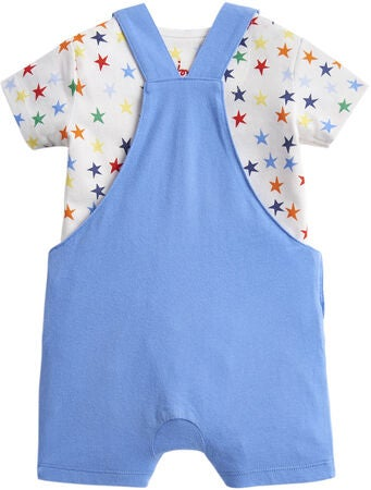 Tom Joule Housut & Body, Blue Dino Star Dungaree