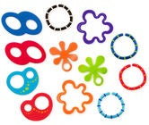 Oball Linky Loops Purulelut 12-pack