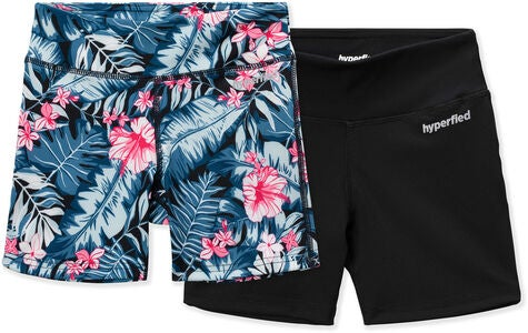 Hyperfied Move Shortsit, Black/Tropical Flower