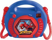 Marvel Spider-Man CD-soitin & Mikrofoni