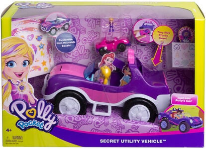 Polly Pocket Leluauto Adventure Buggy Dual Scale