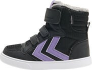 Hummel Stadil Poly Mid Jr Tennarit, Black/Aster Purple