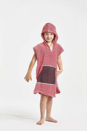 Didriksons Pier Poncho, Chili Red