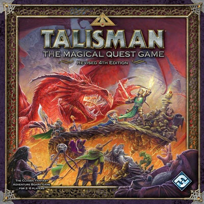 Talisman 4th Edition Lautapeli