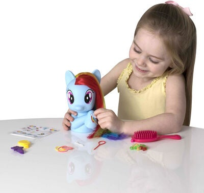 My Little Pony Kampauspää Hevonen Rainbow Dash