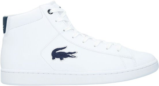 Lacoste Carnaby Evo Mid 3181 Kengät, White/Navy