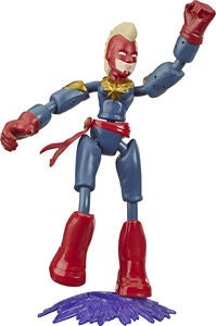 Marvel Avengers Bend And Flex Figuuri Captain Marvel