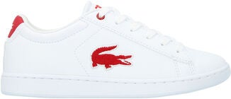 Lacoste Carnaby Evo 318 Kengät, White/Red
