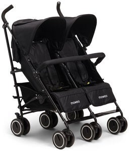 Moweo Civi Twin Sateenvarjorattaat, Black