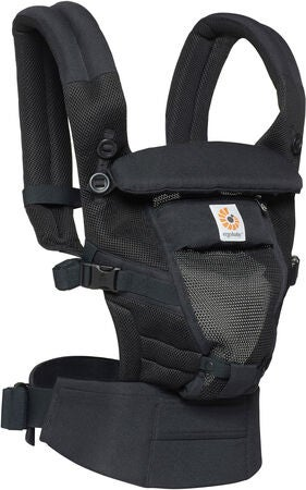 Ergobaby Adapt Cool Air Kantoreppu, Musta