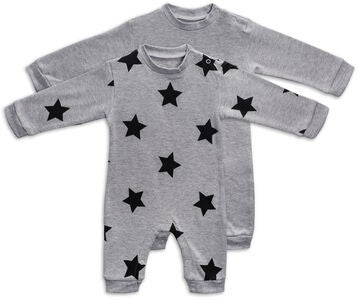 Tiny Treasure Maxime Jumpsuitit, Grey Melange