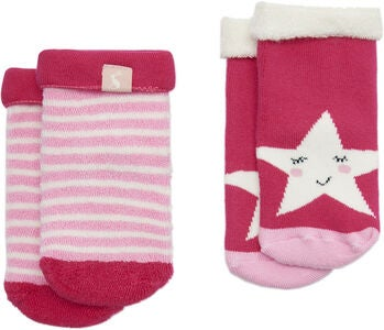Tom Joule Towelling Sukat Star, True Pink