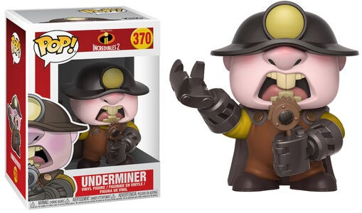 POP! Disney The Incredibles 2 Keräilyhahmo Underminer