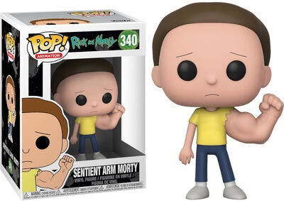 POP! Rick And Morty Keräilyhahmo Sentinent Arm Morty