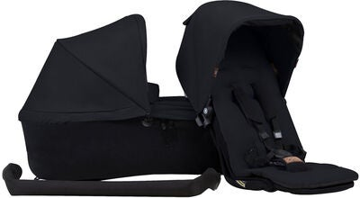 Mountain Buggy Duet Single Perhepaketti, Black