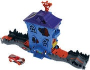 Hot Wheels City Leikkisetti Nemesis Attack Croc Mansion