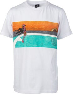 Rip Curl Dead Sled T-Paita, Optical White