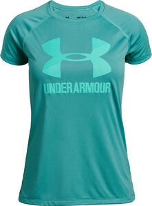 Under Armour Big Logo Tee Solid Treenipaita, Shamrock