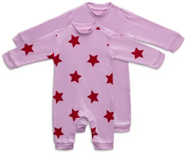 Tiny Treasure Maxime Jumpsuitit, Pink Lavender