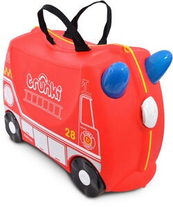 Trunki Frank the Firetruck Matkalaukku 18L, Red
