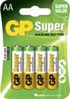 GP Super Alkaline AA 15A LR6 4-pack