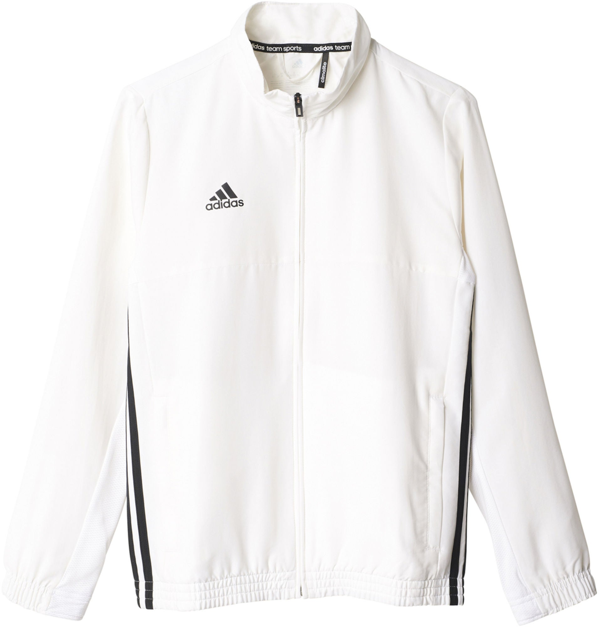 Osta Adidas T16 Team Jacket Y Treenitakki, White   Jollyroom