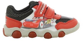 Disney Autot 3 Vilkkuvat Tennarit, Red/Black