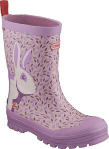Viking Jolly Big Rabbit Kumisaappaat, Lavender/Multi