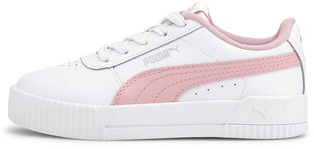 Puma Carina L PS Tennarit, White/Pink