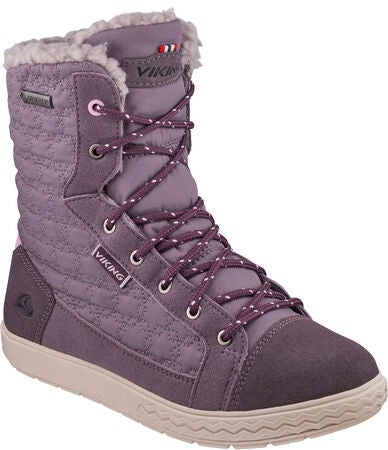 Viking Zip II GTX Kengät, Dark Grey/Plum