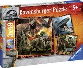 Ravensburger Palapeli Jurassic World 3x49