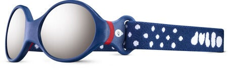 Julbo Loop S Spectron 4 Vauvan Aurinkolasit, Dark Blue/Red