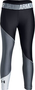 Under Armour HG Color Block Ankle Crop Leggingsit, Stealth Grey