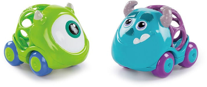 Oball Disney Monsterit Oy Autot 2-pack