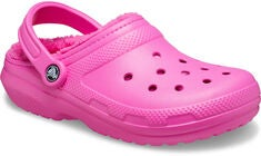 Crocs Classic Lined Clog, Electric Pink