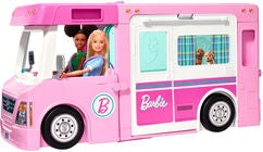 Barbie 3-In-1 DreamCamper Auto & Tarvikkeet