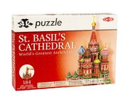 Tactic Palapeli 3D Puzzle St. Basil's Cathedral