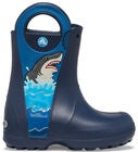 Crocs Fun Lab Shark Kumisaappaat, Navy