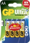 GP Ultra Plus Alkaline AA 4-pack