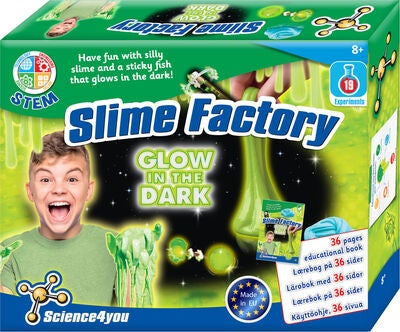 Science4You Glow Slime Lab