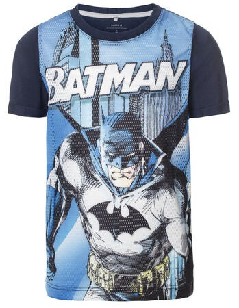 Name it Kids Batman T-paita, Dress Blues