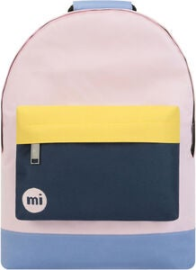 Mi-Pac Mini Colour Block Reppu, Blush/Navy