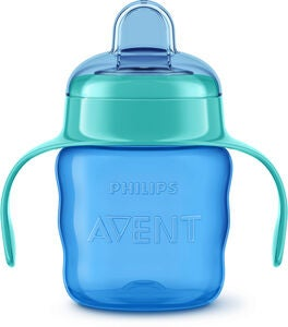 Philips Avent Classic Nokkamuki 200 ml, Blue/Green