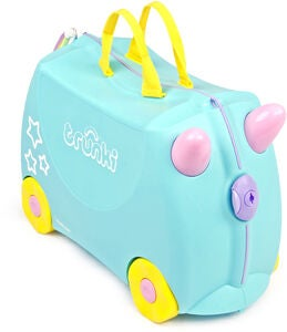 Trunki Una the Unicorn Matkalaukku 18L, Turquoise